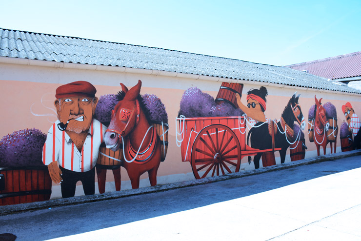"Vinícola del Priorat presenta el ""Mural del Centenari"""