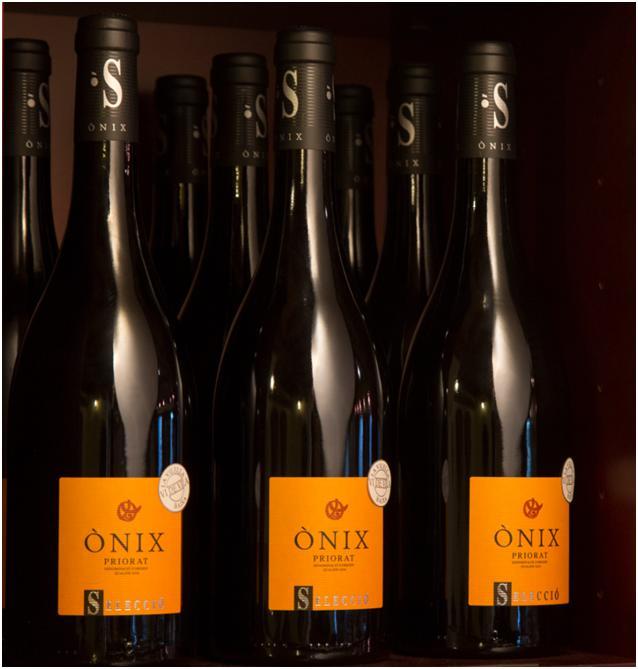 Ònix Selecció – Vi de Vila de la Vilella Baixa, escollit com a vi representatiu de la DOQ Priorat l'any 2018